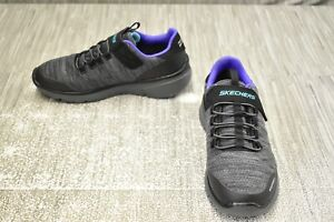 **SKECHERS Equalizer 3.0 Aquablast 97925L Shoe, Little Boy's Size 2.5, Black