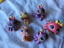 Littlest Pet Shop Lot of 6 Insect Spider Snail Lady Bug