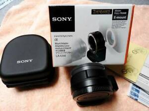 Sony LA-EA4 Full Frame A-mount to E-mount Lens Adapter EXC Cond