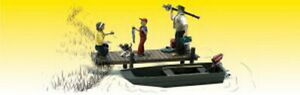Woodland Scenics A2756 O Scenic Accents Family Fishing Figures (Pack of 5)