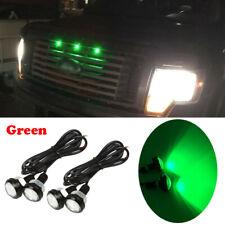 4pc Ford SVT Raptor Style LED Green Grille Lighting Kit, Universal Fit Truck SUV