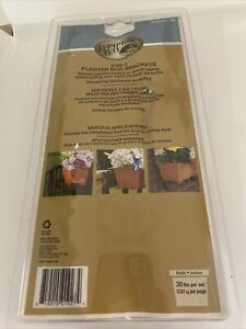 Hampton Bay 3 in 1 Planter Box Brackets For Wood, Metal & Most Vertical Surfaces