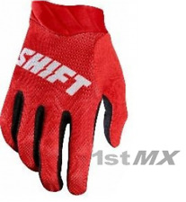 Shift 3LACK Label AIR Motocross MX Off Road Race Gloves Red White Adults Small