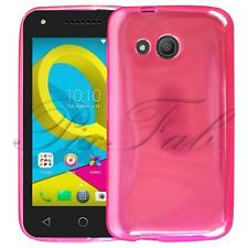 For Alcatel U3 3G 4049X New Genuine Black Clear Gel Silicone Phone Case Cover