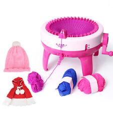 Children Knitting Machine DIY Handmade Scarves Hat Knit Scarf Machine 40 Needles
