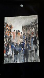 "Original Watercolour Painting ""Jamboree""."
