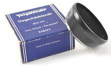 Rare Voigtlander 310/41 Lens Hood w/ Original Box -  GERMANY
