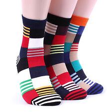 Men's  MOSAIC Pattern Socks(5pairs) Mondrian Tattoo Yolo Awesome Intype KL