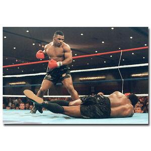 Mike Tyson Boxer Boxing Sports T-1539 Art Poster 24x36 27x40