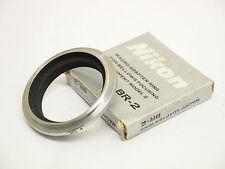 Nikon BR-2 macro ad Anello Adattatore per SOFFIETTO unità. STOCK NO u1535