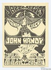 Retinal Circus Postcard 1968 May 30 John Handy My Indole Ring