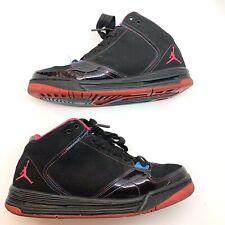 Nike Jordan As You Go Black Pink Rainbow Thread Size 6Y 517629-029 Pre Owned