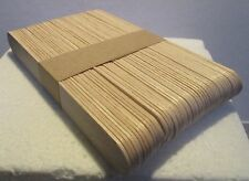 Lollipop Sticks - approx.50 x Jumbo Wooden Lollipop Sticks for Model Making 1stP