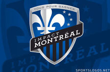 Montreal Impact FC Soccer Futbol Mens Embroidered Polo Shirt XS-6XL, LT-4XLT New