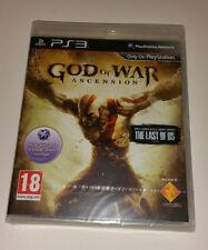 God of War Ascension PS3 New Sealed UK PAL Sony PlayStation 3 Prequel