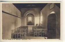 C 120^ ISLE OF WIGHT - POSTCARD OF THE CHURCH,BONCHURCH - Walter Scott