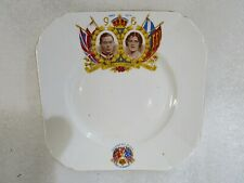 Vintage Alma Ware England King George V 1937  Coronation Plate