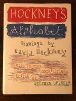 Hockney's Alphabet (Hardcover) by Stephen Spender (Editor), David Hockney (Illus