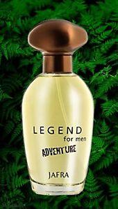 Jafra Legend For Men Adventure Eau DeToilette 3.3 oz Brand New & Sealed