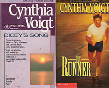 Complete Set Series - Lot of 7 Tillerman Cycle Books Cynthia Voigt Dicey Runner