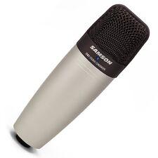 Samson C01 Micrófono Condensador De Estudio-de diafragma grande de voces e instrumentos