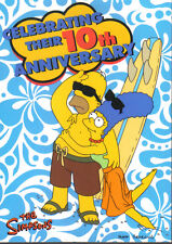 SIMPSONS 10TH ANNIVERSARY PROMOTIONAL CARD NSU-1