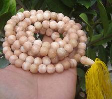 "109beads ""Pra-Kom""Thai Prayer Buddha Beads mala caved relic stone Samroiyod Monk"