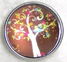 CLASSIC SNAPS SNAP CHUNK CHARMS - TREE OF LIFE