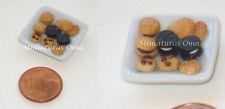 Surtido galletas en  fimo miniatura 1/12 casas muñecas