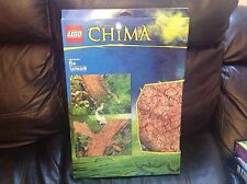 New Lego Legends Of Chima Play-Mat Double Sided 100x70cm New In Package