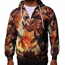 Amon Amarth Band Fans Apparel Men's Zipper Hoodie Size S to 3XL