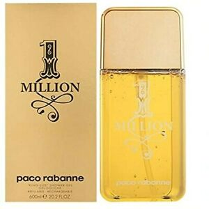 1 Million for Men Paco Rabanne Shower Gel ( Pump ) 20.2 oz - New in Sealed Box