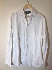 Polo Ralph Lauren Men's Button Down White Long Sleeve Shirt Size 16 1/2