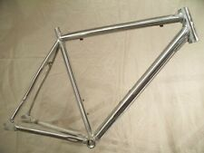 NYCBikes CityFixed Single Speed/Track Bike Raw Aluminum Bicycle Frame 53cm 700c