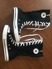 fc6d7860b171 Converse Chuck Taylor High Boots Black Sz Men 4 Women 6 Patch Zip