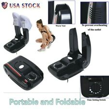 Boot Dryer Portable Folding Shoes Warmer Electric Heat With Timer ABS US Stock