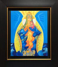 Caridad del Cobre Giclee Print Canvas Cuban Artist Published SFASTUDIO