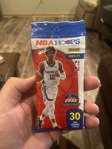 2020-21 Panini NBA Hoops Cello Fat Pack - 30 Cards New Factory Sealed!