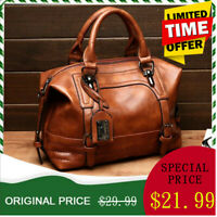 Women Lady Leather Handbag Tote Messenger CrossBody Shoulder Bag Satchel Evening