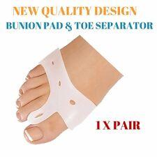 NEW Gel Bunion Protector Toe Spacer Straightener Separator Alignment Pain Relief