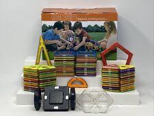 Lot of 50 Magnetic Building Blocks Kids Children Learning Toys Colorful Imden