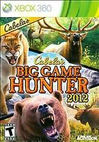 Cabela's Big Game Hunter 2012 (Xbox 360) Disc Only, Tested