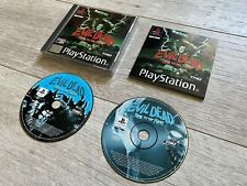 Evil Dead, Hail to the King PS1 Complete with Manual