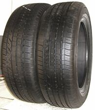 USED PAIR of Dunlop Tires P235/60R18 Grandtrek Touring A/S 102V 2356018