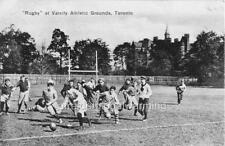 """Photo 1900s Toronto, Canada """"Boys Playing Rugby"""""""