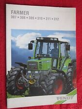 1993 FENDT FARMER 307,308,309,310,311, & 312 TRACTOR 36pg BROCHURE (FRENCH TEXT)
