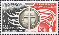 France 1974 Liberation 30th Anniversary/WWII/War/Medal/Torch 1v (n46325)