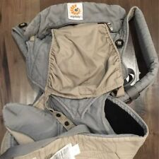 Ergo Ergobaby Infant Baby Carrier 4 Position 360 Grey Pre Owned- Guc