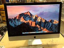 iMac 27in A1419 (LATE 2013) I7 3.5ghz  16gb 1TB + 128gb SSD GTX 775M, Apple Box