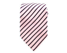 Mens Necktie 8.5 cm Stripes Wedding Business Groomsmen Stripe Ties. CHOOSE COLOR